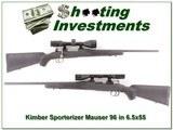 Kimber of Oregon Sporterizer Mauser 96 in 6.5x55 - 1 of 4