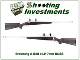 Browning A-Bolt II Left Handed Stainless 7mm BOSS