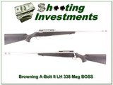 Browning A-Bolt II Left Handed Stainless 338 Win BOSS