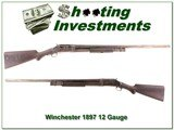 Winchester Model 1897 made in 1909 12 Gauge 30in full - 1 of 4