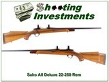 Sako AII Deluxe in hard to find 22-250 Remington! for sale