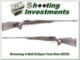 Browning A-Bolt II Eclipse 7mm BOSS