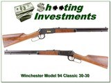 Winchester Model 94 Classic 30-30 20in Octagonal barrel - 1 of 4