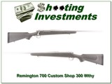 Remington 700 Stainless Custom Shop 300 Weatherby - 1 of 4