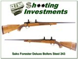 Sako L579 Forester Deluxe 243 Win Bofers Steel! for sale