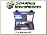 Colt New Agent Lightweight 45 ACP NIC for sale - 1 of 4