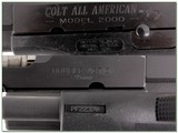 Colt All American 9mm semi-auto NIC for sale - 4 of 4