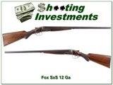 AH Fox H Grade 1928 Philadelphia 12 Ga 26in Skt & Skt for sale