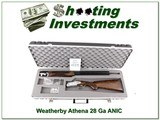 Weatherby Athena 28 Gauge unfired NIC! for sale - 1 of 4