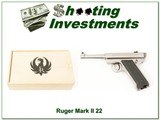 Ruger Mark I 1 of 5000 Bill Ruger Commemorative 22LR As New for sale