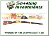 Winchester 94 38-55 Oliver Winchester unfired in box - 1 of 4