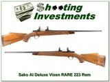 Sako AI Deluxe in Rare 223 Remington - 1 of 4