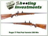 Ruger 77 Varmint older Red Pad rare 308 Win collector!