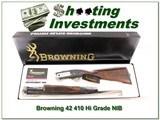 Browning Model 42 410 High Grade NIB Box! - 1 of 4