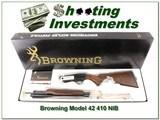 Browning Model 42 410 NIB Box! - 1 of 4