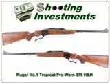 Ruger No.1 Tropical pre-Warning 375 H&H unfired - 1 of 4