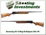 Browning A5 68 Belgium Magnum 12 Ga VR collector! - 1 of 4