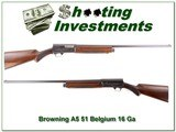 Browning A5 16 Ga 51 Belgium UNFIRED - 1 of 4