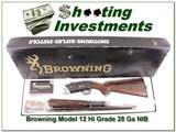 Browning Model 12 28 High Grade NIB Box! - 1 of 4