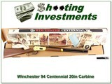 Winchester 94 Centennial 66 30-30 20in Carbine NIB - 1 of 4