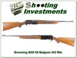 Browning BAR 1969 Belgium 243 Winchester! - 1 of 4