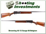 Browning A5 1960 Belgium 12 Gauge for sale - 1 of 4