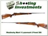 Weatherby Mark V Lazermark 5 Panel 26in 300