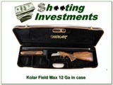 Kolar Field MAX 12 Gauge upgraded wood engraved 32in in case! - 1 of 4