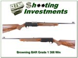 Browning BAR Grade 1 308 Win as NEW! for sale - 1 of 4
