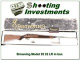 Browning Model 52 Exc Cond in box! for sale