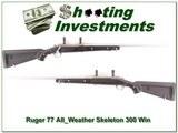 Ruger 77 All-Weather Zytel Skeleton 300 Win Mag for sale - 1 of 4
