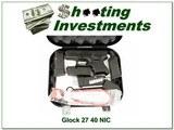 Glock 27 40 S&W NIC! for sale