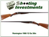 Remington 1900 K 12 Ga 30in Exc Cond! for sale