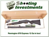 Remington 870 Express 12 Ga 26in Vent Rib in box for sale