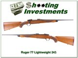 Ruger 77 Red Pad Lightweight 243