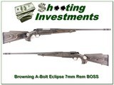 Browning A-Bolt II Eclipse 7mm BOSS for sale