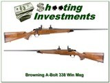 Browning A-Bolt II Medallion 338 Win Mag