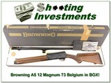 Browning A5 73 Belgium MAG 12 unfired in box! - 1 of 4