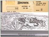 Browning 22 Auto Grade III hand engraved ANIB! - 4 of 4