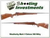 Weatherby Mark V Deluxe 300 Wthy Magnum for sale - 1 of 4