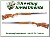 Browning Superposed Grade 4 1954 Belgium 30in for sale