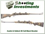 Austin & Halleck Stainless Black Powder 50 Cal for sale