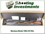 Montana Rifle 1999 Limited Production 270 Win for sale