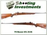 FN Mauser Supreme late 40's 30-06