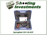 Springfield Armory 1911 A1 45 ACP ANIC for sale