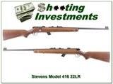 Stevens Model 416 22LR Trainer Target for sale