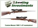 Custom Mauser 7x57 built by Joe Balickie in 1974 for sale