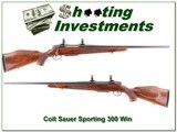 Colt Sauer Sporting rifle in 300 Win Mag for sale - 1 of 4