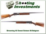 Browning A5 56 Belgium Sweet Sixteen collector! - 1 of 4