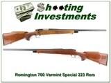 Remington 700 Varmint Special 223 Rem Heavy Barrel - 1 of 4